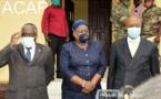 Visite conjointe Union Africaine et CEEAC au ministère de la Défense nationale