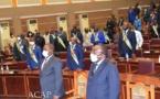 Fin des travaux de la 2ème session extraordinaire 2020 à l'Assemblée nationale