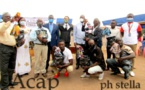 L'Union Européenne lance la distribution de 50.000 masques dans la ville Bimbo