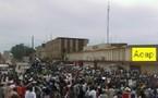Grande marche de protestation contre l'agression de la ville de Birao