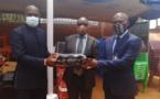 De matériels bureautiques pour les centrales syndicales de Centrafrique