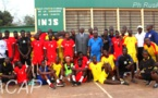La présélection des Juniors de handball bat celle des Cadets 30 - 27