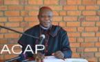 Le Cardinal Nzapalainga rend compte de sa tournée pastorale