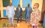 Le Directeur général de l'Energie Centrafricaine visite la station de Radio Centrafrique