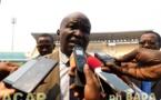 L'aire de jeu du complexe sportif Barthélémy Boganda aménagée par la Fédération centrafricaine de footbal