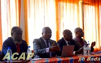 Le candidat Serge Singa-Béngba présente le projet de la renaissance du basketball centrafricain