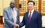 Le vice-président chinois s'engage à renforcer les relations amicales avec le Soudan du Sud