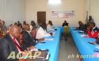 Une session de formation des journalistes de l'Agence Centrafrique Presse