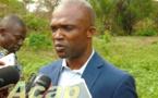 Visite des professionnels des médias à Kapou2 pk 45 axe Mbaïki sur une enquête nationale agricole