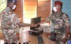 Cérémonie d'intronisation du chef de corps du BIT 7