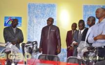 Le ministre Ange-Maxime Kazagui visite les nouveaux studios de Radio Centrafrique