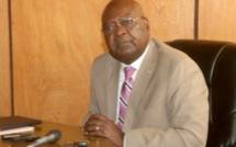 Le Premier-ministre démissionnaire Simplice Mathieu Sarandji