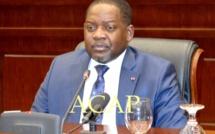 Le Premier-ministre, Firmin Ngrébada (archives ACAP)