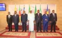 photo de famille des participants à la 14ème conférence des chefs d'Etat de la CEMAC
