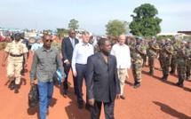 Visite de terrain de Bambari