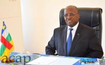 Le ministre du Commerce et de l'Industrie, Mahamat Yacoub Taïb