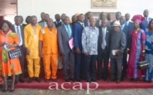 Les participants au 3ème conseil national du KNK