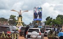 La population banguissoise réserve un accueil chaleureux au président Kagamé
