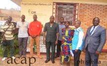 Remise des kits maraichers au groupement Ngoulépka de Bimbo