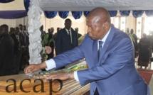 Le Président Touadéra élève  feu député Pierre-Marie-Aimé Franck à la dignité de grand officier