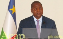 Le Président Faustin-Archange Touadéra