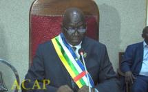 Président de l'AN Laurent Ngon-Baba
