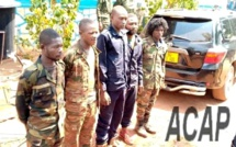 Cinq éléments rebelles de la CPC arrêtés après l'attaque de Pk 9 route Mbaïki
