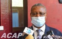 Le Ministre Somsé inaugure le centre de dépistage du COVID-19