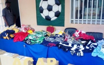 Des équipements sportifs pour les clubs de football féminin de la ligue de Bangui