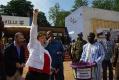 Visite du président de la République avec la Directrice exécutive de la Banque Mondiale