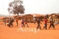 Les déplacés du site de la minusca situé au  pk 8 de BAMBARI  sont en fuite